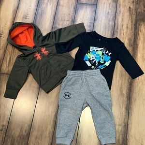 Under Armour 3 Piece Hoodie/joggers set.